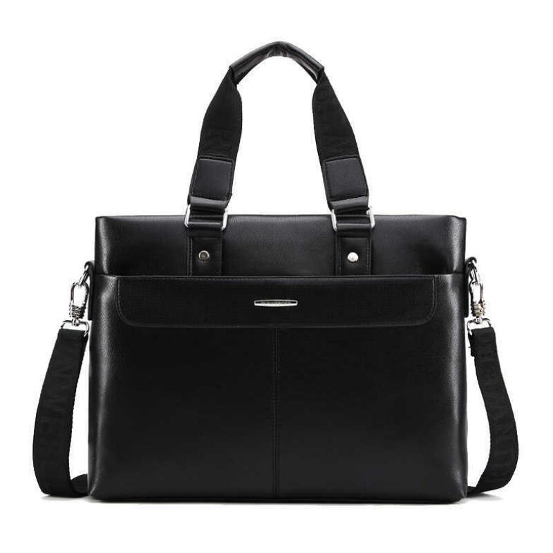 New  Men Casual Briefcase Business Shoulder Bag Leather Messenger Bags Computer Laptop Handbag Bag Men's Travel Bags   JIE-0154 2017 men casual briefcase business shoulder bag leather messenger bags computer laptop handbag bag men s travel bags