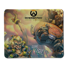 Hot Low Cool Overwatch Gaming Mouse Pad Overwatch Logo Computer Notebook Mouse Pad Anti-slip mouse gamer Mouse Mats