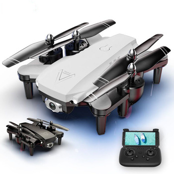 RC Helicopter 1080P Camera Drone WiFi FPV Drone Dual Camera HD Foldable RC Quadcopter 2.4G Optical Flow Positioning Quadrocopter