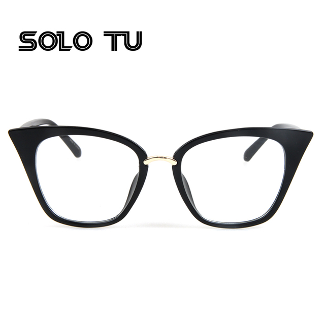 499cb898a7e Cat eye glasses frames optical brand design vintage cat eye eyeglasses frame  women clear black leopard