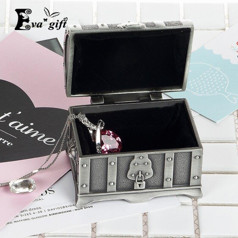 Mini Craft Metal Retro Pirate Chest Storage Box For Ringu0026earring Organizer  Jewelry Box Jewelry Storage Case