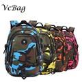 2015 Waterproof Orthopedic Primary School Backpacks Children School Bags for Girls Boys Camouflage  Mochila Escolar