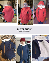 New Brand 2017 Autumn Winter Kid's Fashion & Casual Jackets Boy's Cashmere Long Sleeve Hooded Coats Kids Warm Clothing Outwears