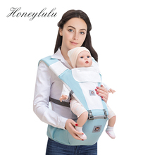 Honeylulu Four Seasons Multifunction Baby Carrier Sling For Newborns Light Kangaroo Ergoryukzak Backpack Hipseat