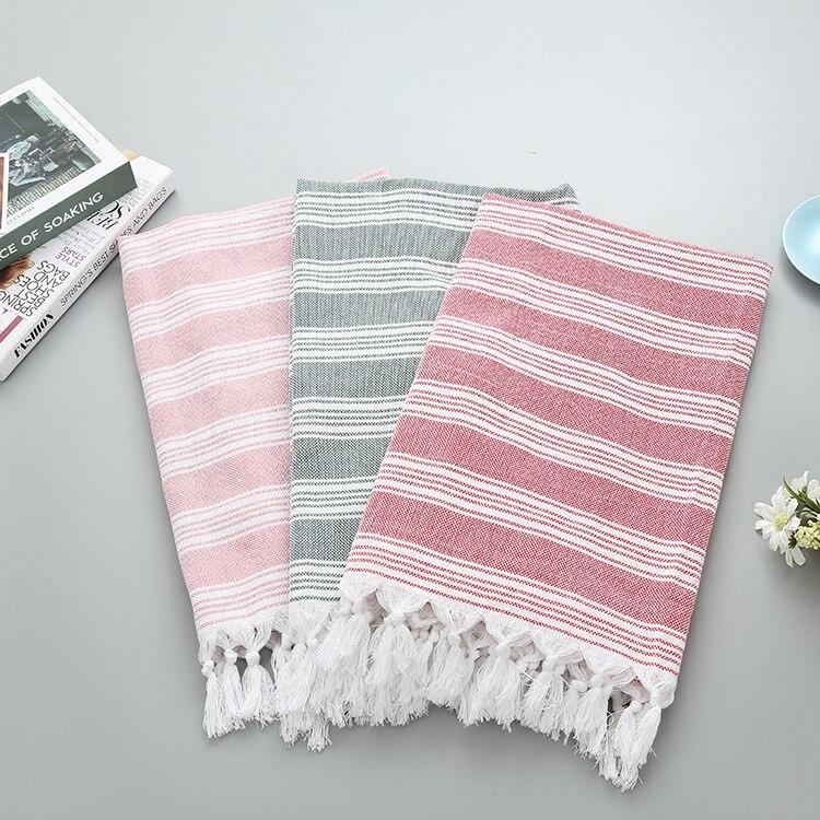 Aliexpress.com : Buy 100*180cm Turkish Tassel Beach Towels