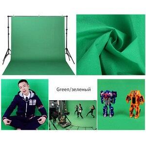 Image 4 - Estúdio de fotografia, 1.6m x 2m/3m/4m não tecido fundo de fundo de cor sólida pano de maquiagem da tela preta verde branca