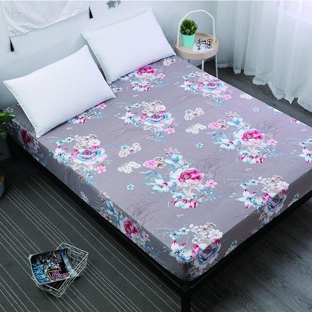 MECEROCK nueva funda protectora de colchón a prueba de agua cubierta de colchón sábana separada ropa de cama de agua con goma elástica