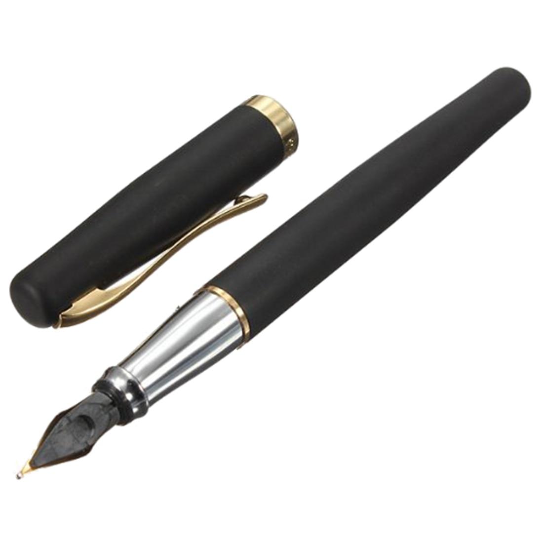 цена на Wholesale 10pcs of Duke Luxury Fountain Pen Fountain Pen Kuli Golden M Nib Gift