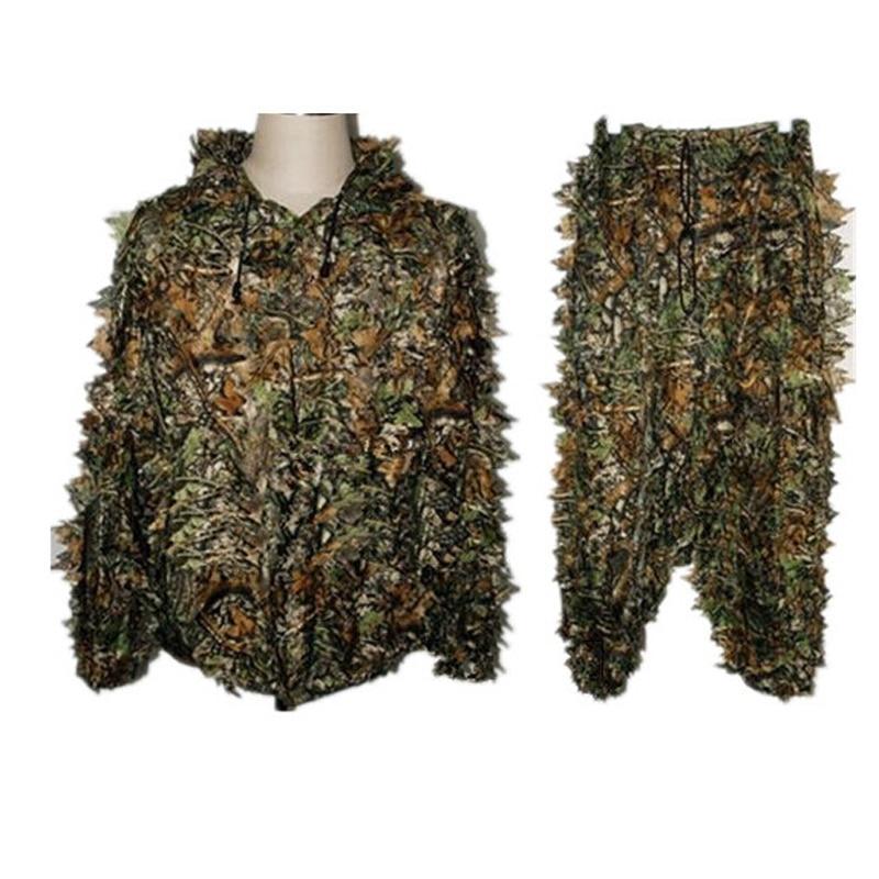 Îmbrăcăminte de vânătoare Ghillie Ghillie Suit Set 3D Camo - Imbracaminte sport si accesorii
