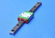 Free Shipping Mini Linear Guide2PCS MGN9 -800mm Linear Rail Guide+4PCS MGN9H недорого
