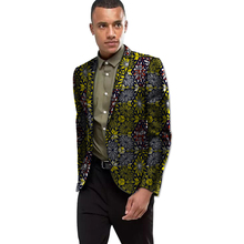 Africa Style Dashiki Print Suit Jacket Men Smart Casual Blazers African Festive Man Blazer For Party Costume Africa Clothing