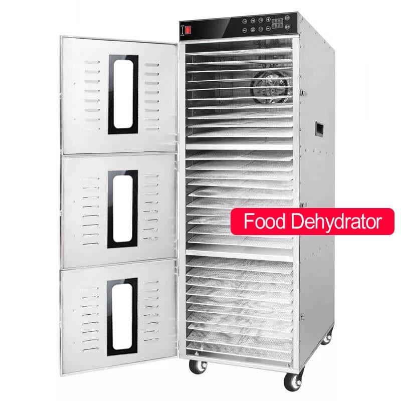 Machine de dessiccateur de fruit de déshydrateur de nourriture casse-croûte de viande végétale plateaux de dessiccateur de déshydratation 30 couches commerciales d'acier inoxydable 110 V/220 V