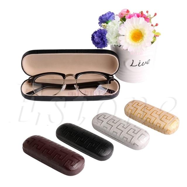 1 ШТ. Переносной Металлические Солнцезащитные Очки Жесткий Очки Футляр Очки Протектор Box