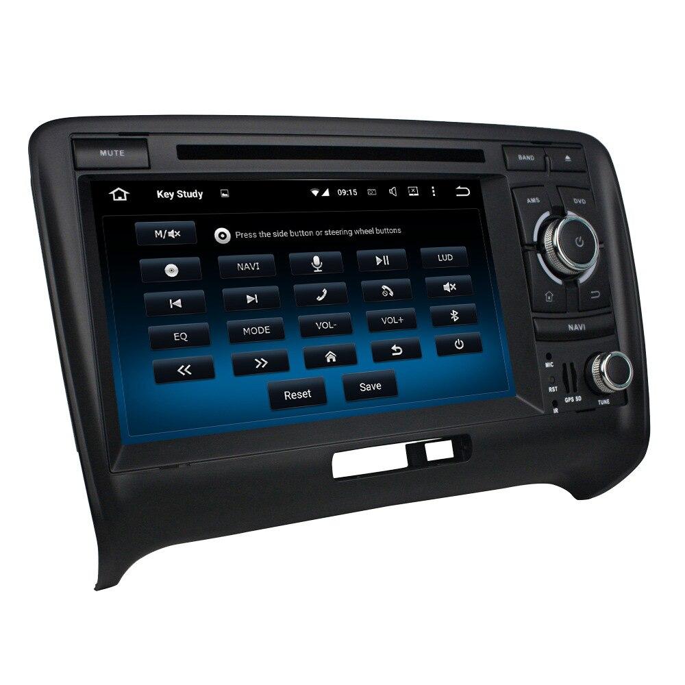 Android 7.1.2 4 ядра Оперативная память 2 г Встроенная память 16 г dvd-плеер автомобиля видео Wi-Fi GPS Navi Радио головное устройство для audi TT (2006-2013)