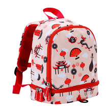 Children School Backpack 3D Printed Pre School Bags For Toddler Baby Girls Kindergarten Kids School Bags for 2-5 Years Old toddler children school bag for boys kids waterproof backpack kindergarten girls 3d cartoon snail shape mochila for 2 5 years