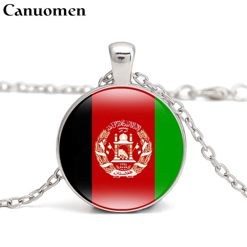 Afghanistan Flag Necklace