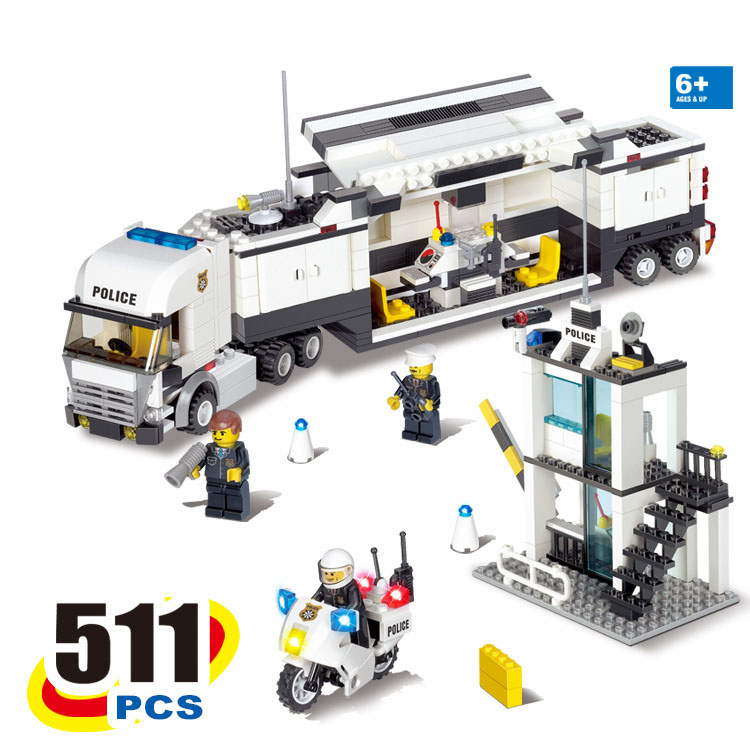 Popular lego police station buy cheap lego police station lots from china lego police station - Lego city police camion ...