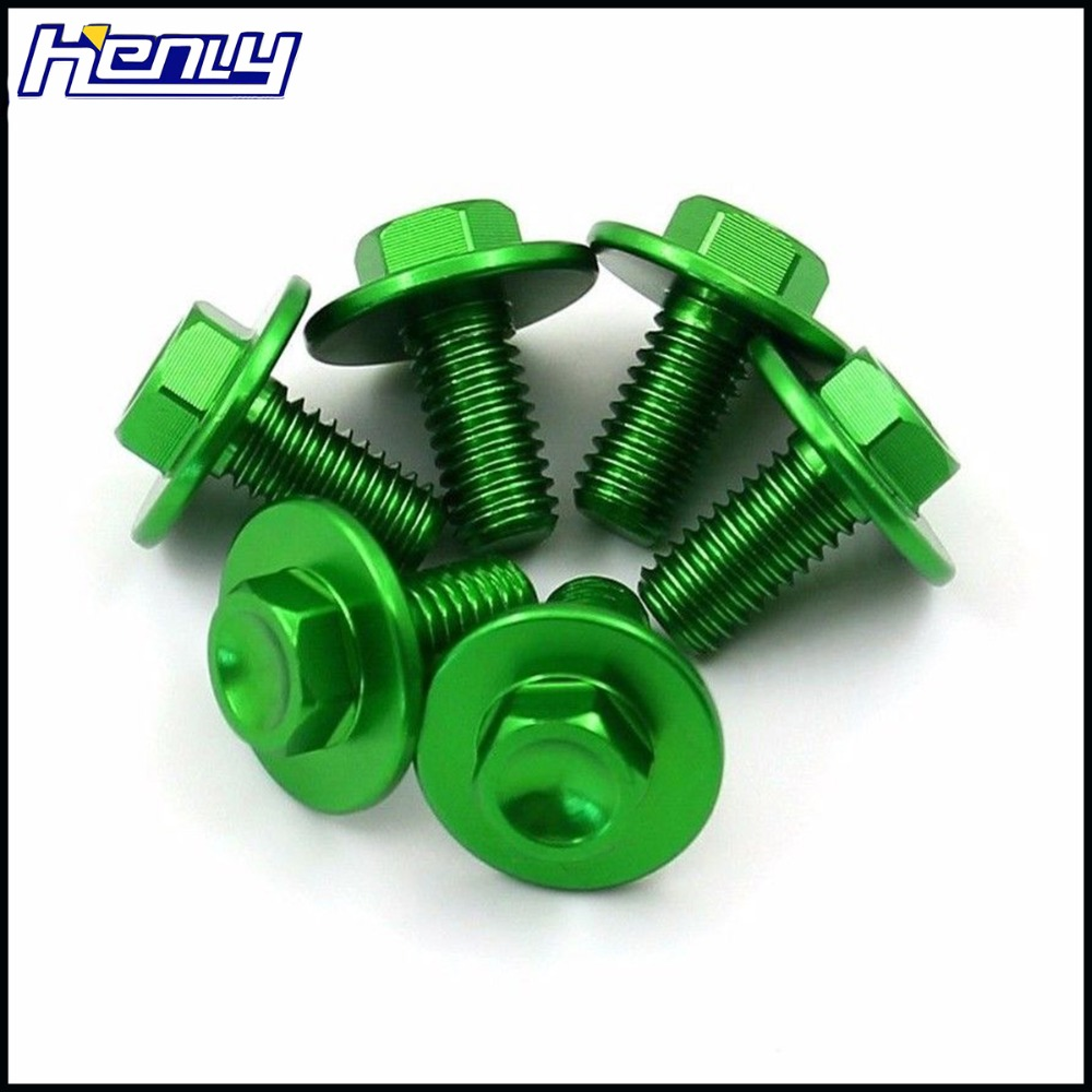 Motorcycle Fork Guard Bolts For Kawasaki KX80 KX85 KX125 KX250  Suzuki RMZ250