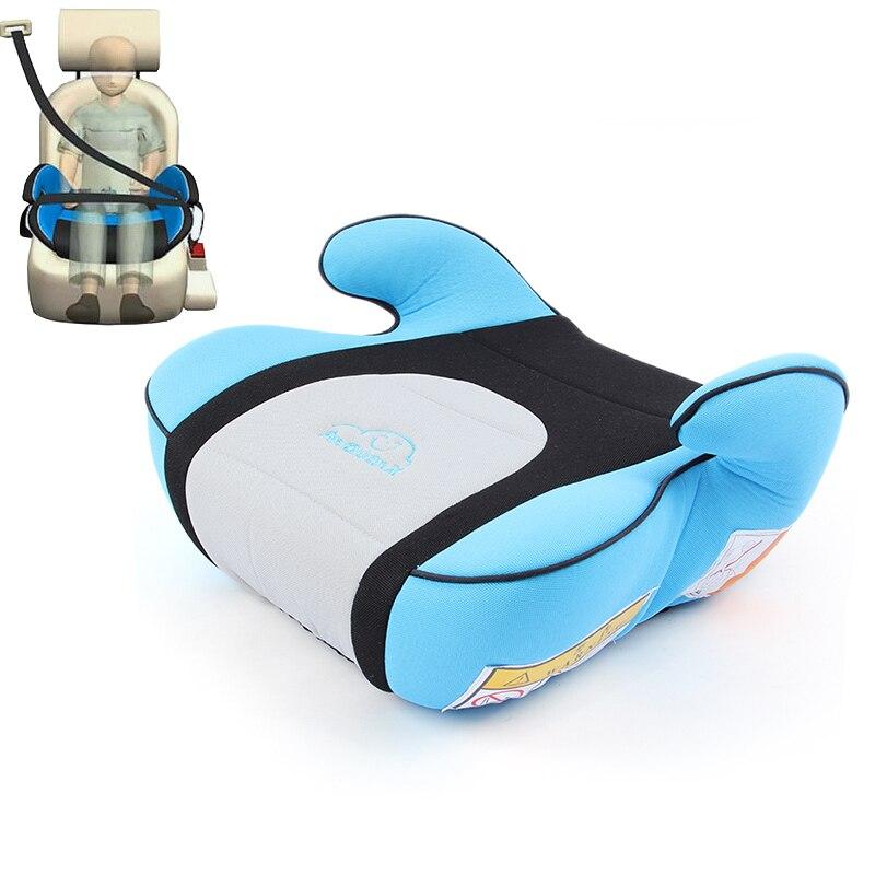 Antidérapant Portable voiture sécurité bébé augmenté Booster siège coussin pour 3-12 ans enfants voyage voiture avion
