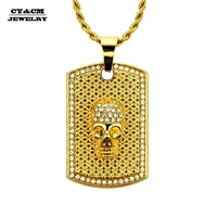 cycm-hip-hop-iced-out-bling-skeleton-skull-pendant-gold-color-rhinestone-army-dog-tag-necklace-women-men-punk-rock-jewelry-gift