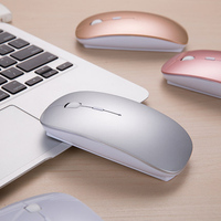 New Design Bluetooth Mouse For Xiaomi Air Women Rechargeable 2 4G Wireless Mice With USB Receiver
