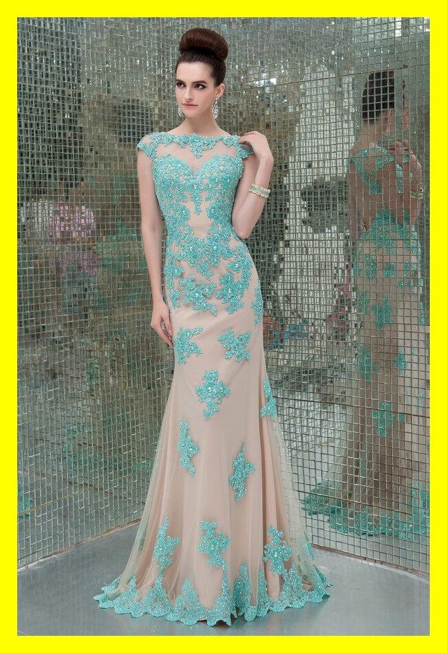 Neon Prom Dresses Cheap Plus Size