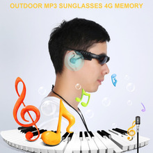 f6f80d1a17 Smart Stereo Music MP3 Glasses Wireless Polarized Sunglasses Headphones  Microphones Glasses Eyeshield Built-in Li