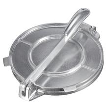 Foldable Tortilla Maker Press Heavy Aluminium Meat Gadgets Bakeware Tools Pie Silver Kitchen Accessories