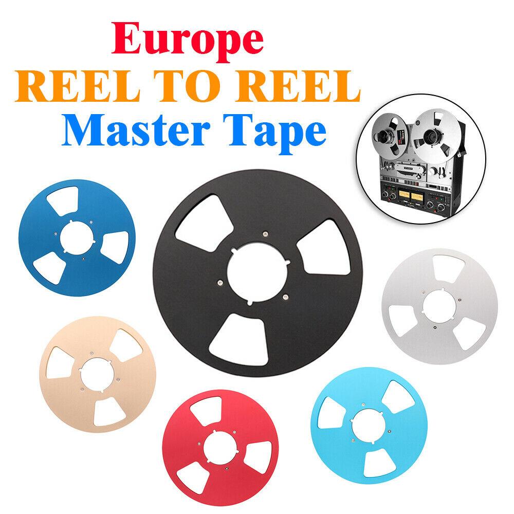 Vintage REEL To REEL 10 Master Tape For Europe STUDER TELEFUNKEN REVOX NAGRA