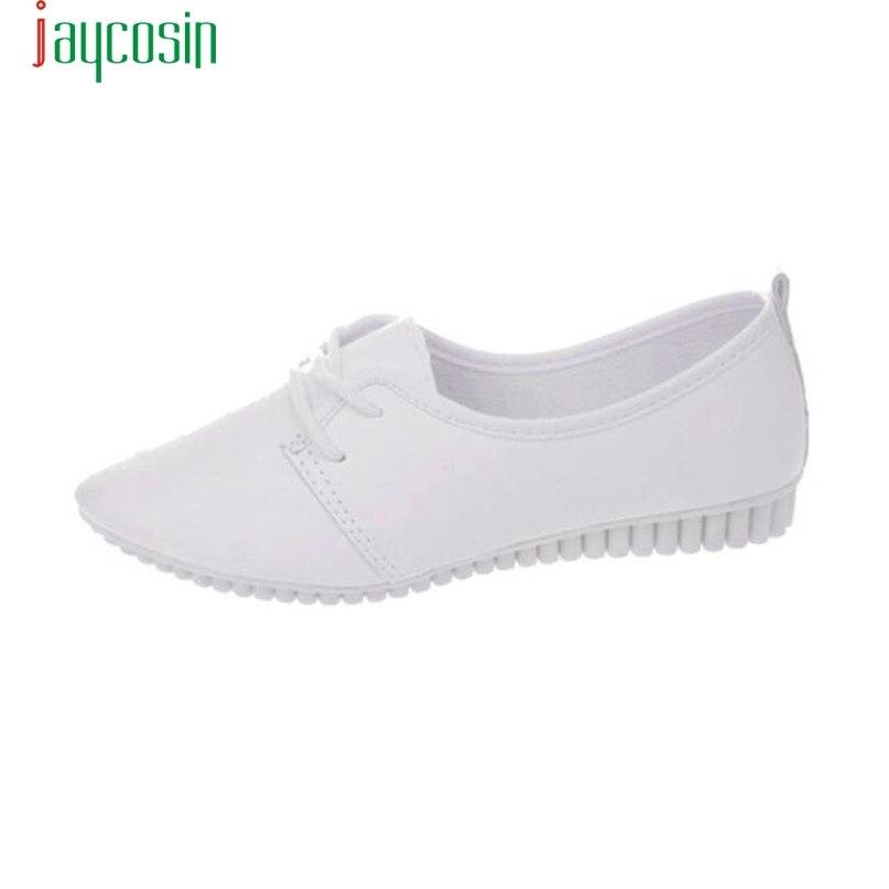JAYCOSIN Mujeres Zapatos de Los Planos Zapatos Mocasines Slip On Zapatos de la C