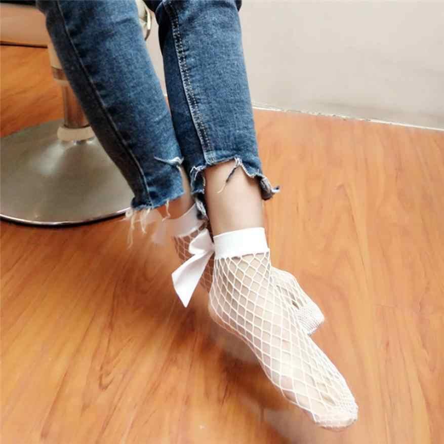 ร้อนขายถุงเท้าผู้หญิง Ruffle Fishnet ข้อเท้าถุงเท้าสูงตาข่ายลูกไม้ปลาสุทธินวนิยายถุงเท้าสั้นสไตล์พิเศษคุณ Soxs Sokken