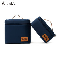 2017 Portable Thermal Insulated Lunch Bags Lunchbox Travel Cooler Storage Bag Women Men Carry Picinic Food