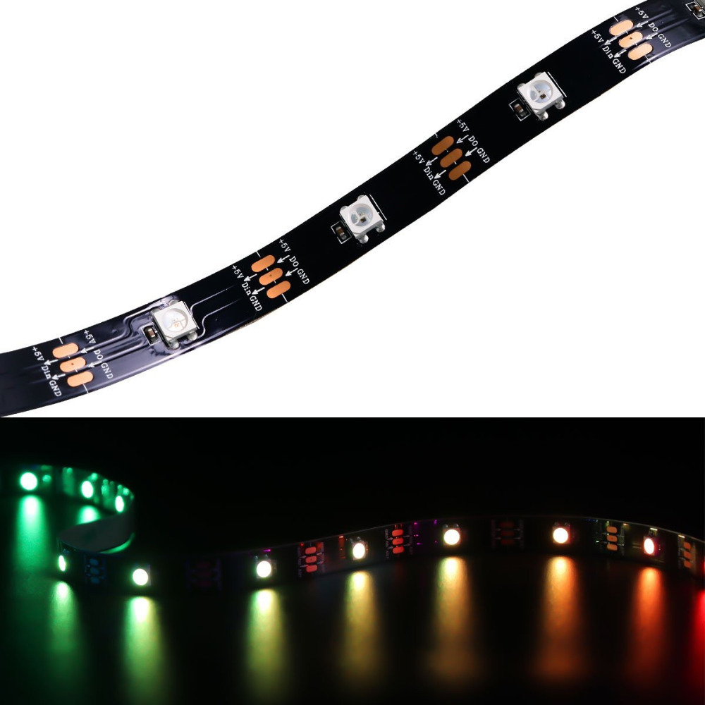 Lights & Lighting Jfbl Wholesale Lichterkette 300 5050 Smd Led Strip Leiste Streifen Licht Kette 5m 12v Dc Wei