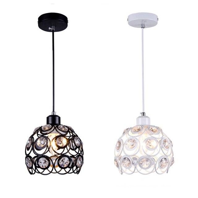 Luster Kristall Pendelleuchten Mode Bar Esszimmer Lampe E27 Moderne
