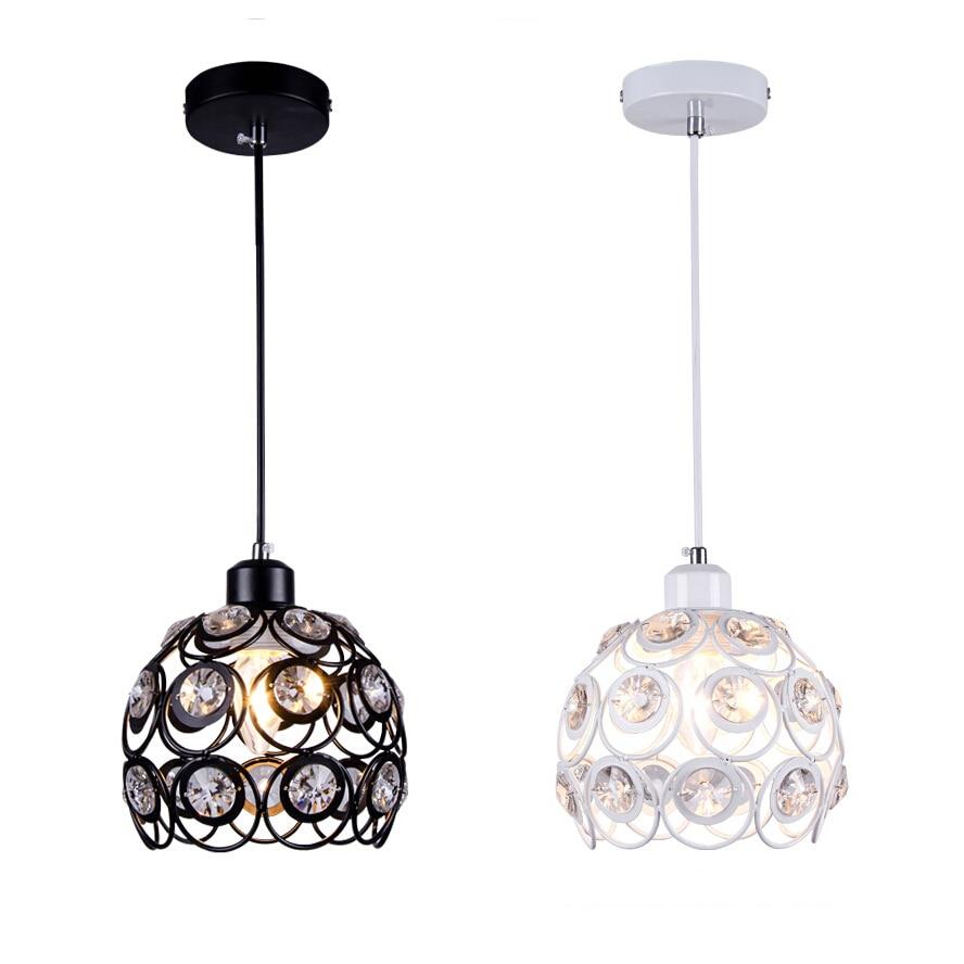 lustres crystal pendant lights fashion bar dining lamp e27. Black Bedroom Furniture Sets. Home Design Ideas