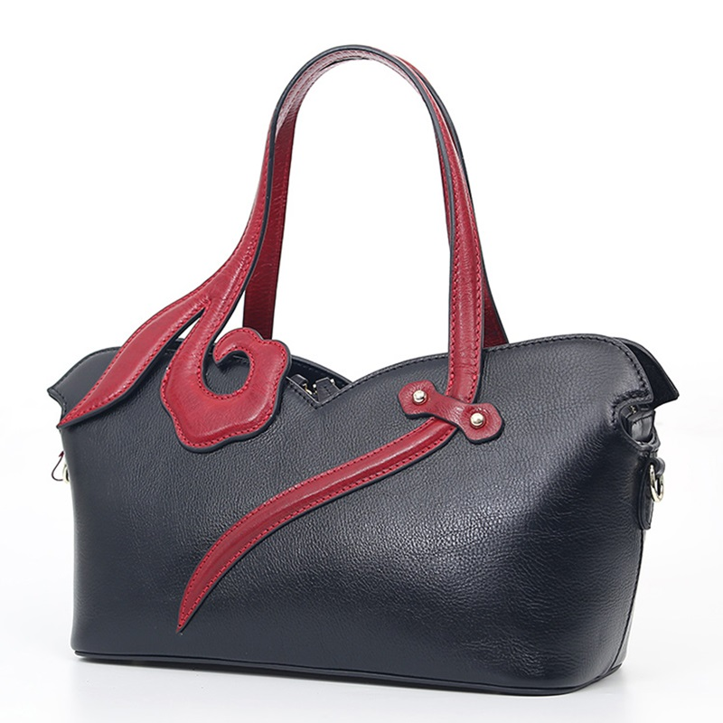 women leather handbags woman bag 2017 ladies hand bags cowhide real leather tote bag high quality chinese style floral handbag original national wind leather ladies handbag 2017 spring of the new chinese wind hand bag woman women s handbags