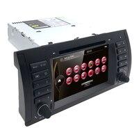 Car multimedia player 7 Car DVD Stereo Player GPS For BMW 5er E39 X5 E53 M5 RDS/DVB T/Bluetooth/Steering Wheel Control /USB/ SD