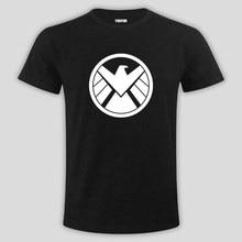 The United States drama God shield Bureau 2017 fashion round neck short sleeve T shirt leading tide brand men's shirts