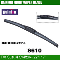 RAINFUN S610 22 17 Dedicated Car Wiper Blade For Suzuki Swift 10 2 PCS As A