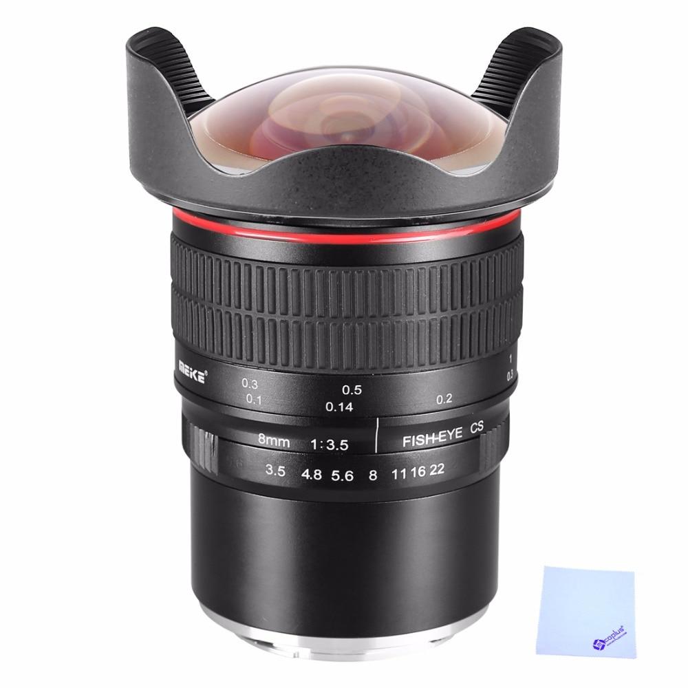 все цены на Meike 8mm f3.5 Ultra HD Fisheye Lens for Panasonic Olympus Mirrorless Camera MFT Mount Micro 4/3 Mount with APS-C/Full-Frame онлайн