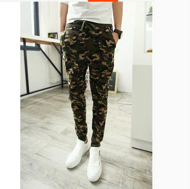 Hommes camouflage Joggeurs Occasionnels Camo pantalons de Survêtement  Taille M L XL XXL 8f851075ebb