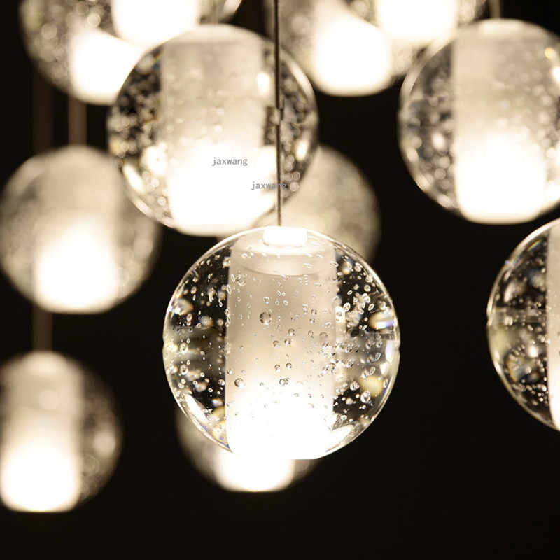 Fashion LED Light Ceiling Chandelier Chandeliers Lamp Decor Living room Chandelier Lighting Light Fixtures Crystal Lustre