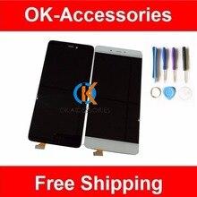 Kostenlose tools für xiaomi 5 s mi5s m5s mi lcd display + touch screen digitizer assembly schwarz weiß farbe 1 teil/los