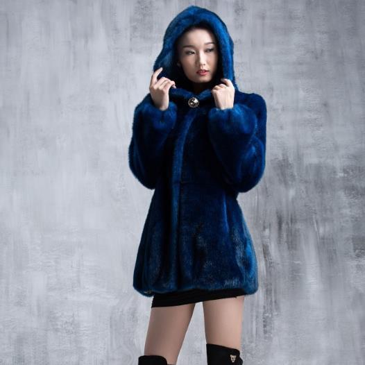 Blue 4xl Femmes noir Parka 2018 Fausse Faux Manteau À Hiver Blanc Fourrure Manteaux Plus Taille Surdimensionné 3xl En Outwear Capuchon M543 Vison dark Furry De gdSwz4zq