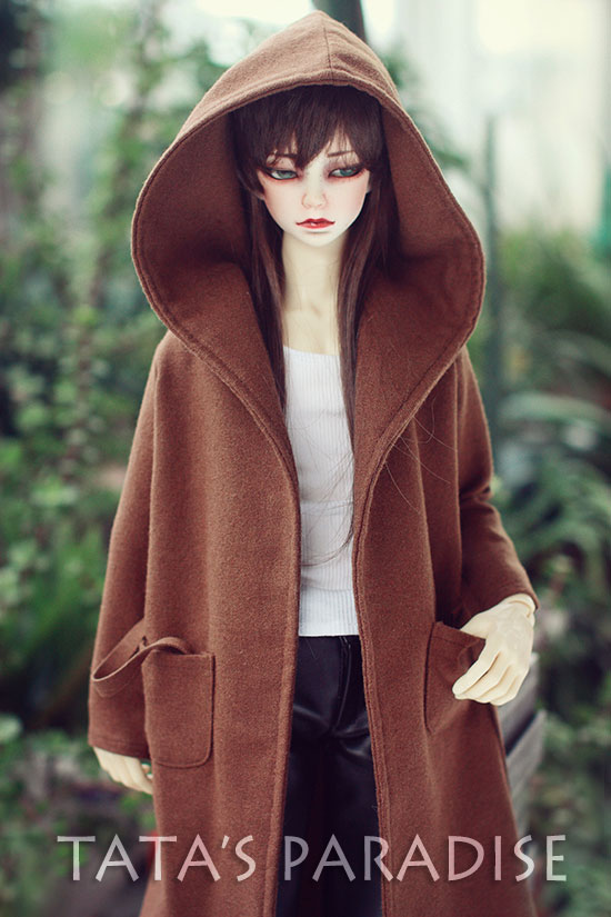 Fashion woolen coat   For BJD 1/3  ,SD17 ,UNCLE Doll Clothes Accessories fashion three piece suit for bjd 1 3 1 4 sd17 uncle doll clothes accessories