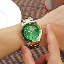 stainless steel waterproof  wristwatches