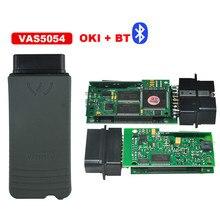 2017 Лучшие качества 3.0.3 Версии ODIS VAS 5054A Vas5054 Bluetooth OKI Чип Vas 5054a Зеленый PCB Новый ODIS 3.0.3 Версии