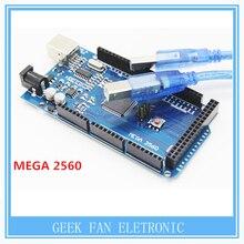 Высокое Качество Мега 2560 R3 Mega2560 REV3 CH340G Совет + Кабель USB Совместим A406
