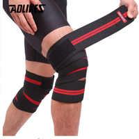 Aolikes 1PCS Elastic Bandage Tape Sport Knee Support Strap Knee Pads Kinesiology Protector Band For Joelheira Leg Wrist Wrap