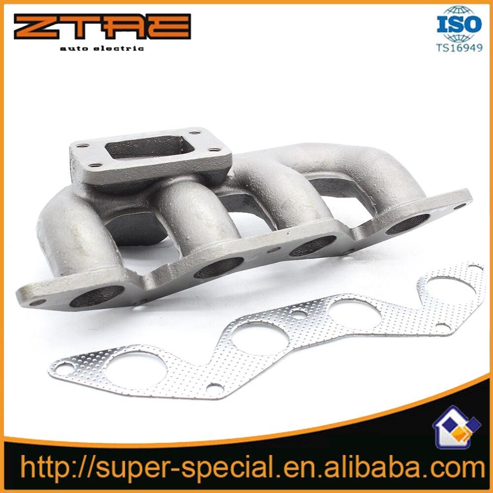Cast Iron Turbo Manifold For 01-05 Hond@ Civi*c D17 1.7L SOHC ONLY